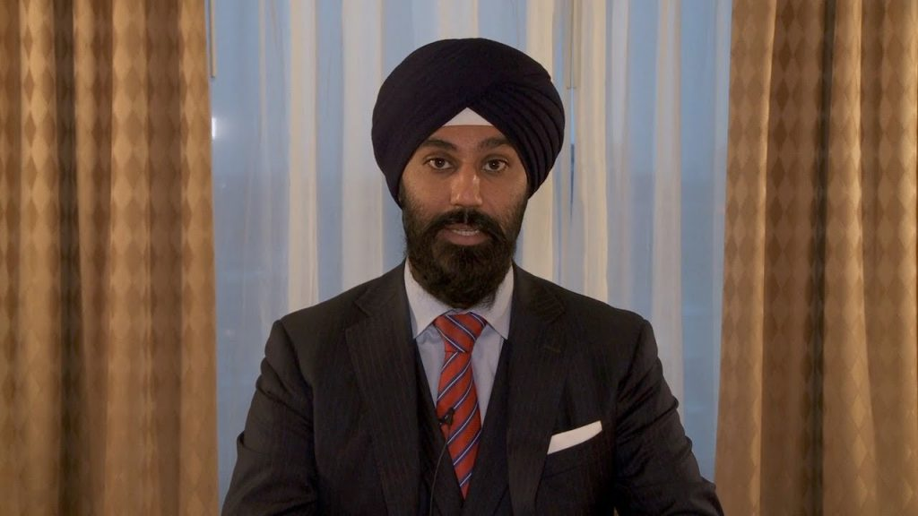 Canadian MP Raj Grewal